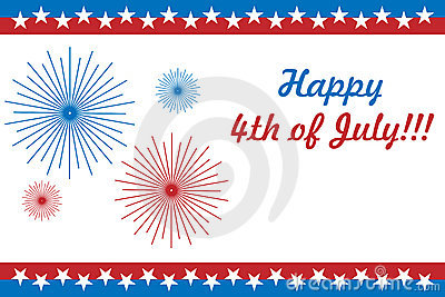Happy 4th Of July Wishes Card Idea Image