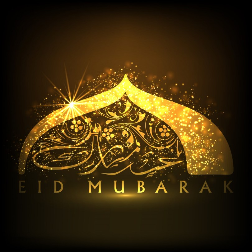Happy Eid al-Fitr Greetings Picture Message