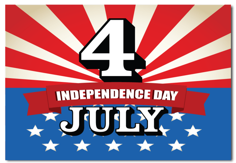 Happy Independence Day 4th of July Best Wishes Message Image