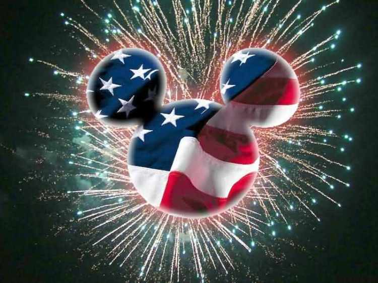 Happy Independence Day 4th of July Firework Wishes Message Image