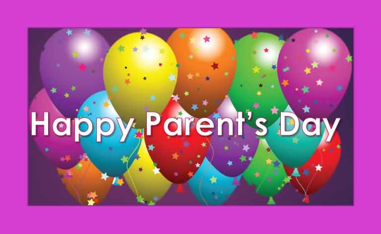 Happy Parents Day Greetings Card For Mom And Dad