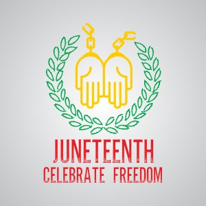 Juneteenth Celebrate Freedom Wishes Message Image