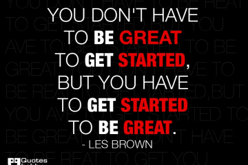 Les Brown Sayings