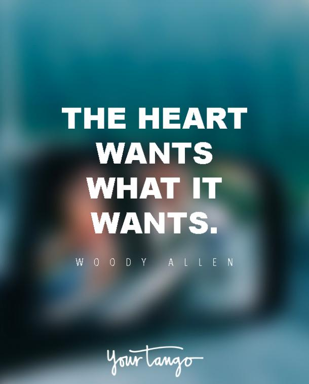 Love Quotes The Heart Wants What It Wants