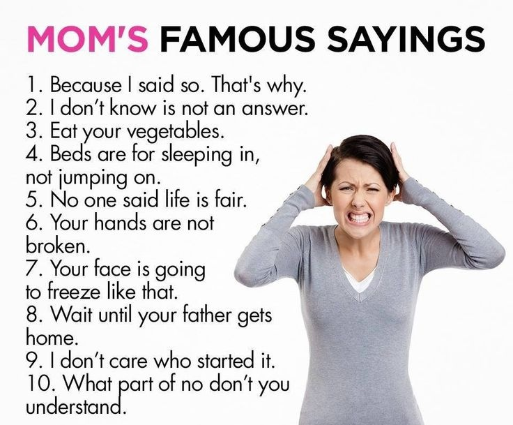 Moms Sayings