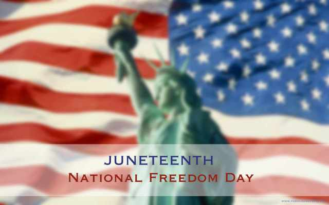 Wish You Happy Juneteenth Greetings Images