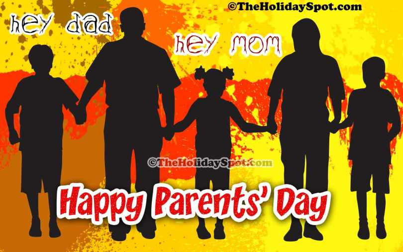 Wish You Happy Parents Day Greetings Picture