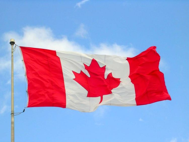 Wishing You Happy Canada Day Greetings Flag Wallpaper