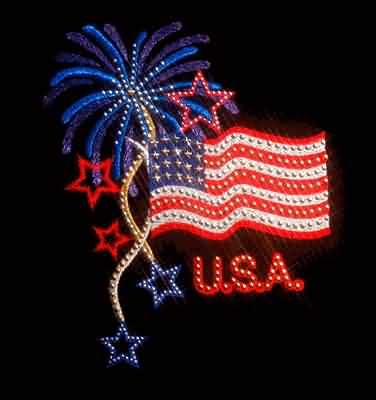 Wonderful 4th of July Greetings Message Image