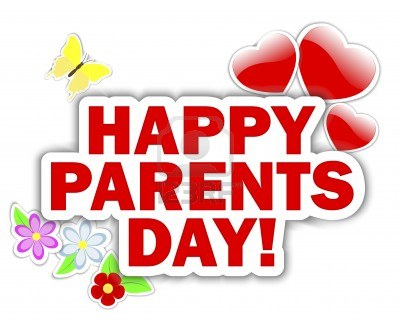 Wonderful Happy Parents Day Wishes Greetings Card Image