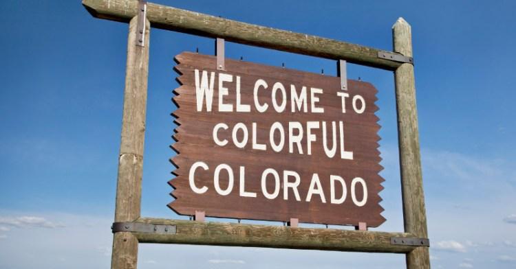 Happy Colorado Day Sign Board