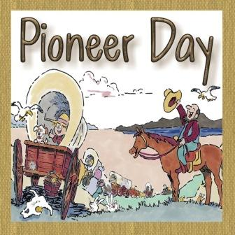 Have A Happy Pioneer Day Greetings Card Image