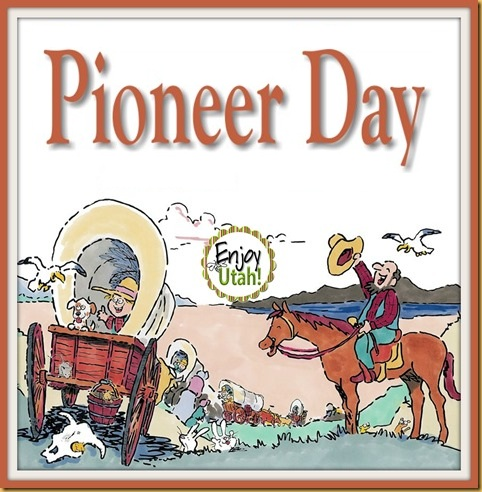 Wonderful Pioneer Day Greetings and Wishes Message Card For Friends Image
