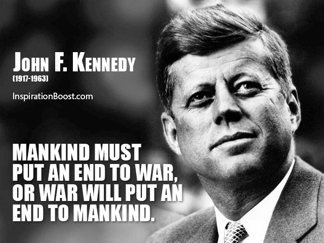 John F Kennedy Quotes Sayings 23