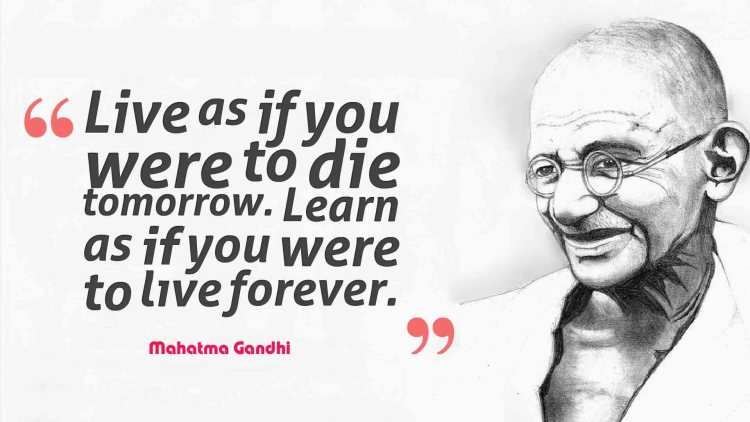 Mahatma Gandhi Quotes Sayings 10