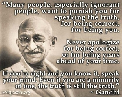 Mahatma Gandhi Quotes Sayings 13