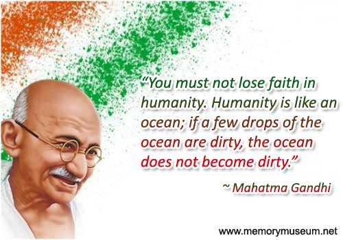 Mahatma Gandhi Quotes Sayings 14