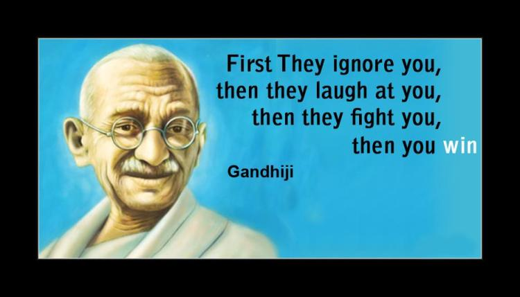 Mahatma Gandhi Quotes Sayings 25