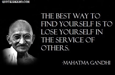 Mahatma Gandhi Quotes Sayings 26