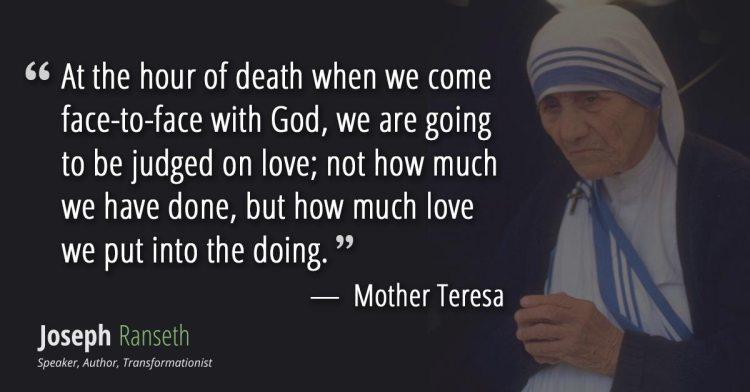 Mother Teresa Quotes Sayings 10