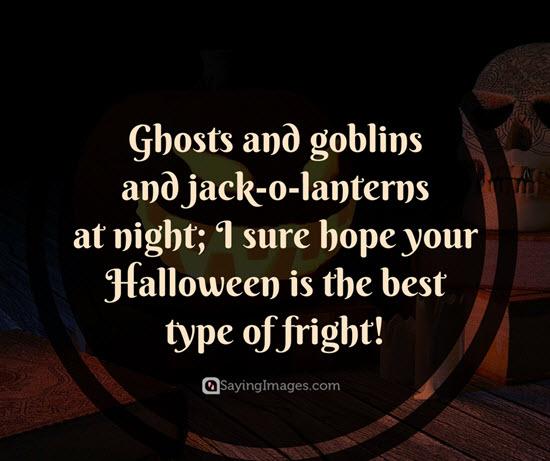 Trendy happy halloween wishes