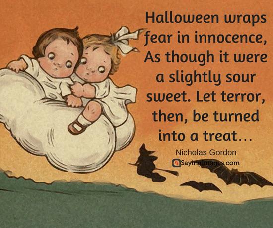 Ultimate scary sayings for halloween