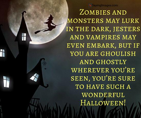 Unique great halloween quotes