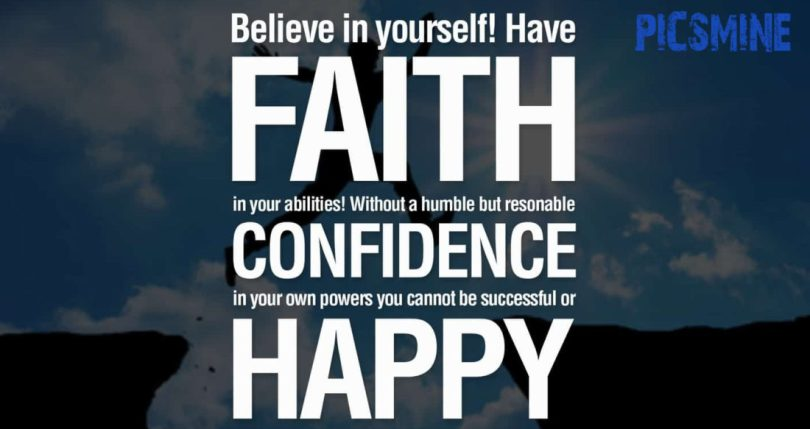 Motivational Quotes For Athletes Believe in yourself have faith