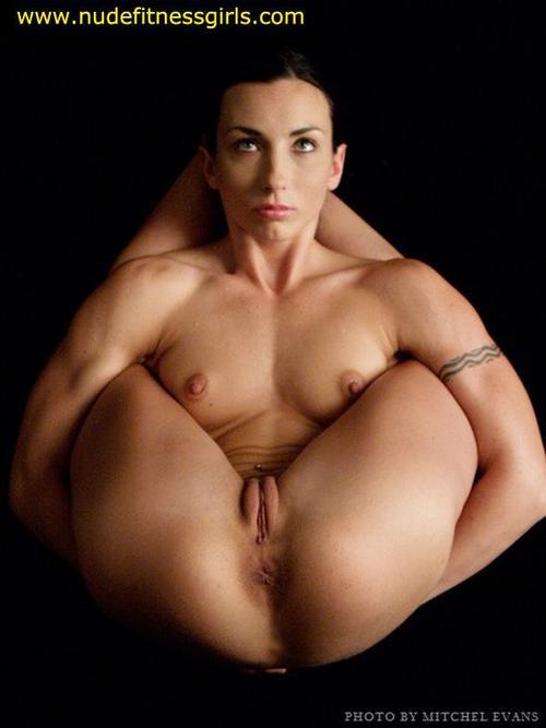 Nude fitness model