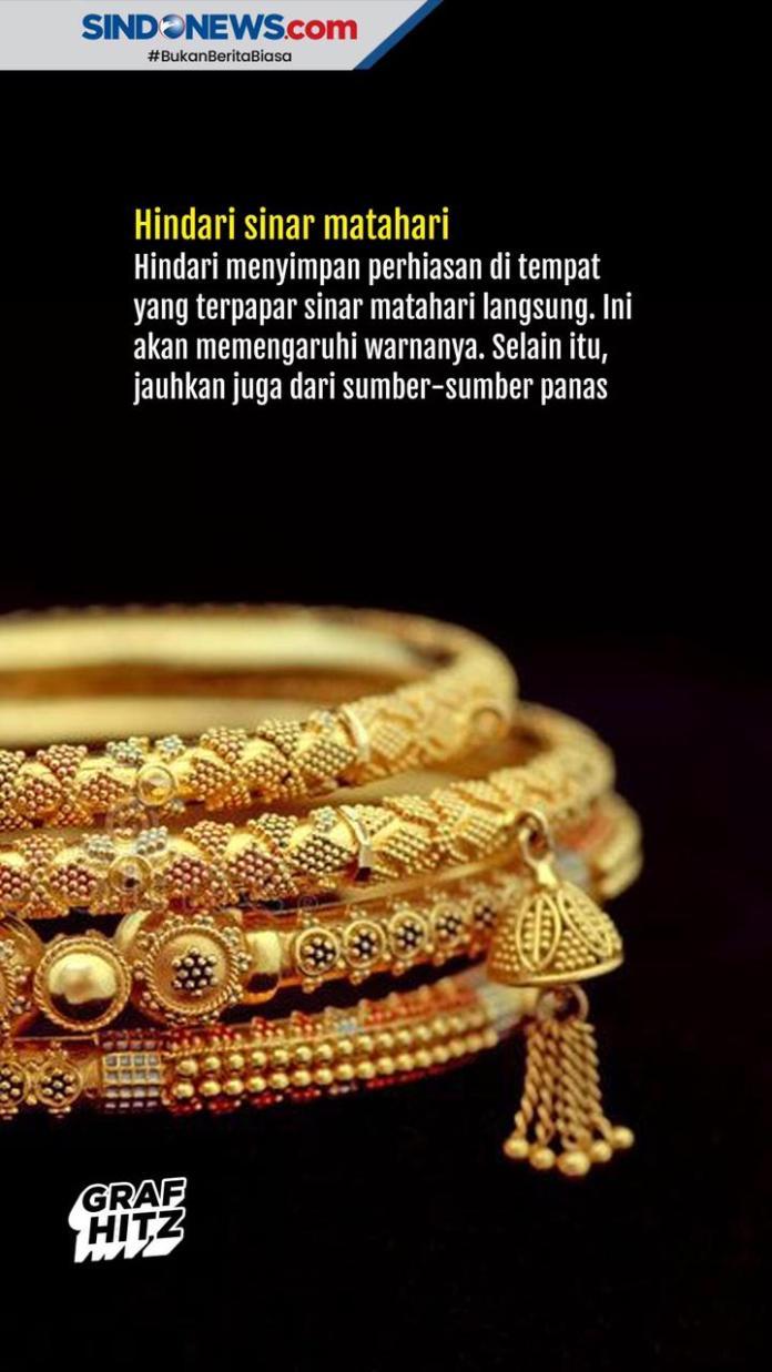 Sindografis Cara Merawat Perhiasan Supaya Tetap Berkilau