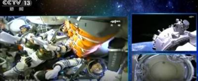 Tiga Astronot Sukses Berlabuh di Stasiun Antariksa China