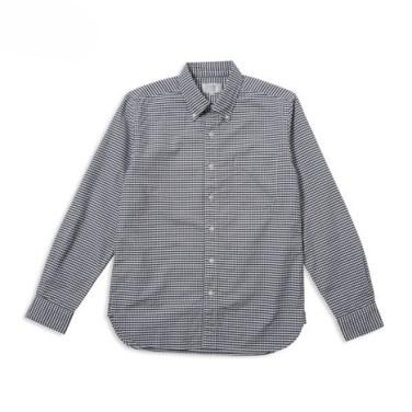 「洗いざらしオックスフォードギンガムチェックBDシャツ」の画像検索結果