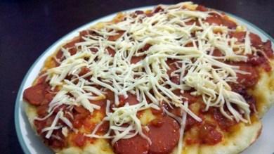 pizza rumahan - bogor