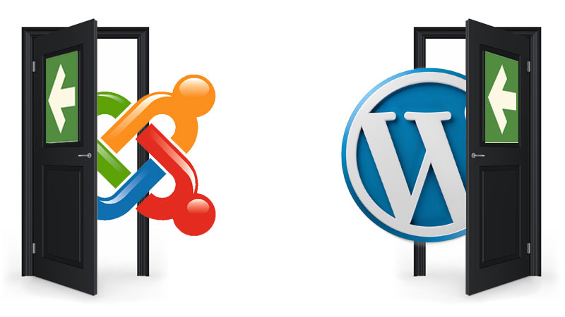 ¡Adios Joomla! ¡Hola Wordpress!