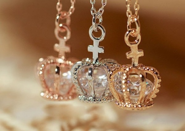 Jewels Necklace Necklace Cute Beautiful Girl Crown