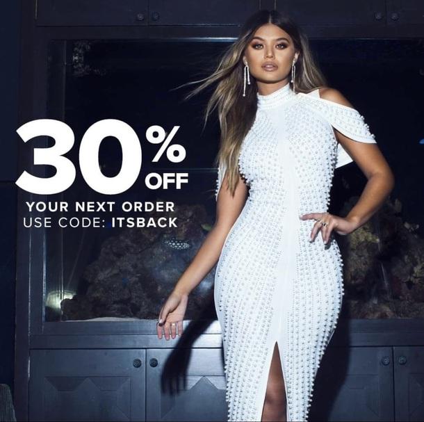 White Party Dresses Fashion Nova Cheap Buy Online