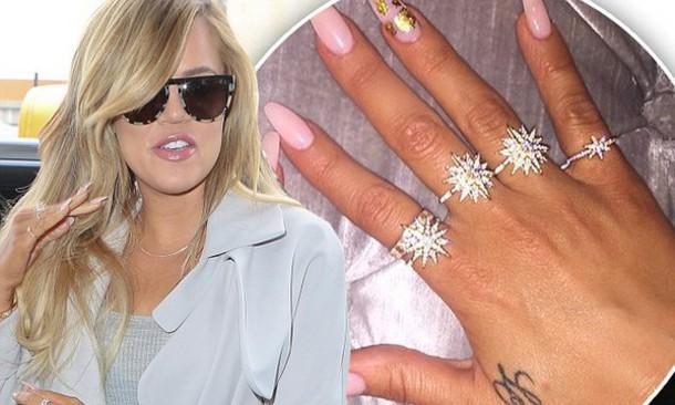Khloe Kardashian Diamonds Stars Glamour Sparkle