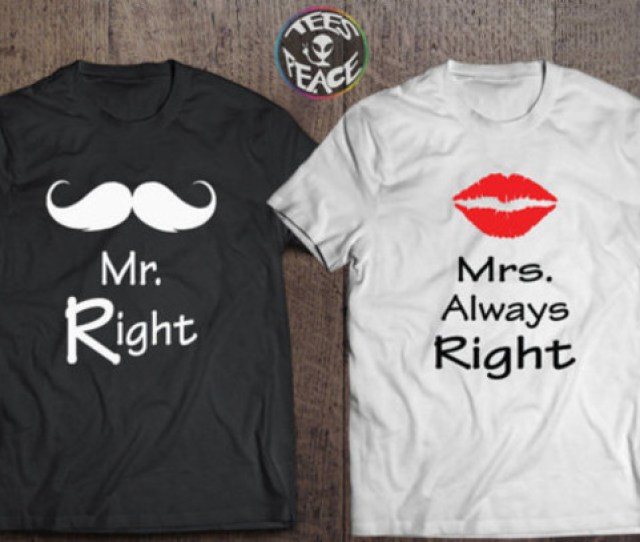 T Shirt Mr And Mrs Personalized Husband Husband Gift Ideas For Wife Girlfriend Boyfriend Boyfriend