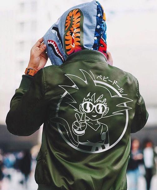 Image result for goku bomber jacket