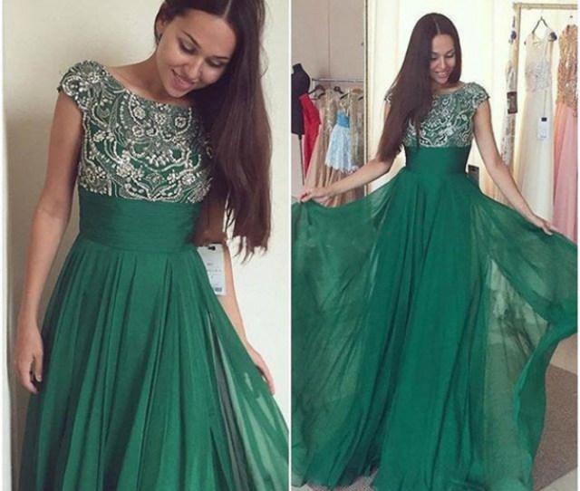 Dress Green Dress Emerald Green Evening Dresses Prom Dress Long Prom Dress Sexy Prom Dress Prom
