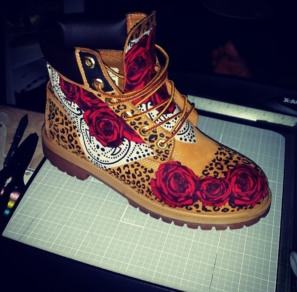 Shoes Custom Timberlands Wheretoget