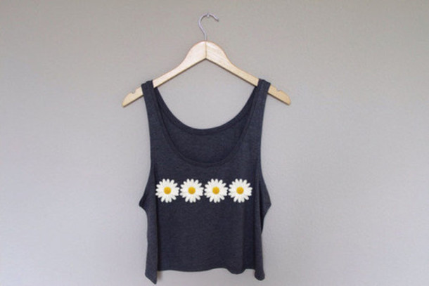 Black White Crop Cute And Top