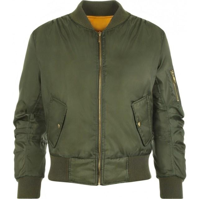 Lain Zip Bomber Jacket | Womens Jackets