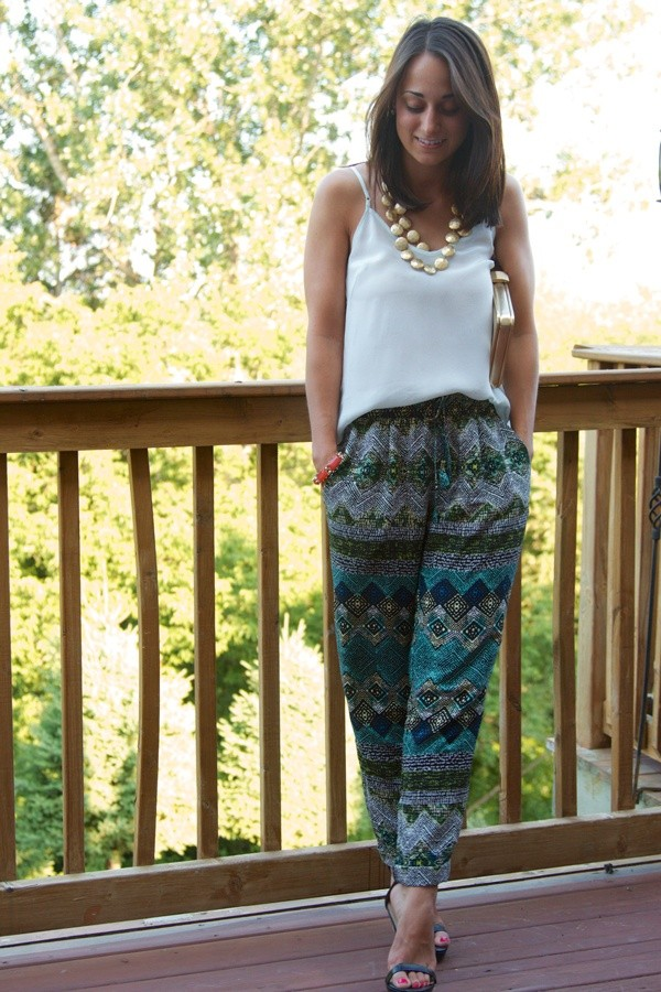 Pants Silk Pant Boho Bohemian Bohemian African Print