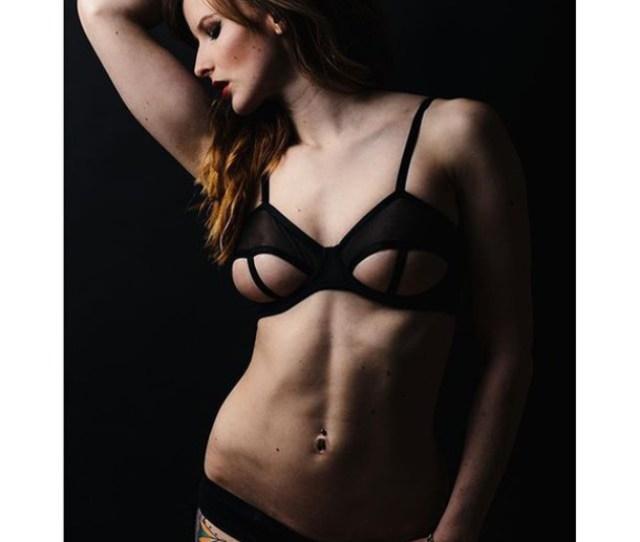 Underwear Black Bra Cute Cut Out Festival Indie Women Lingerie Undies Sexy Pants Panties Girl