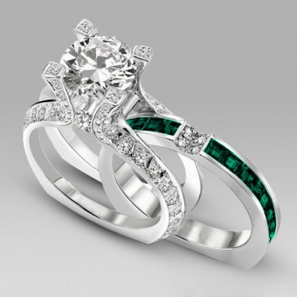 Jewels Two In One Engagement Ring Fashion