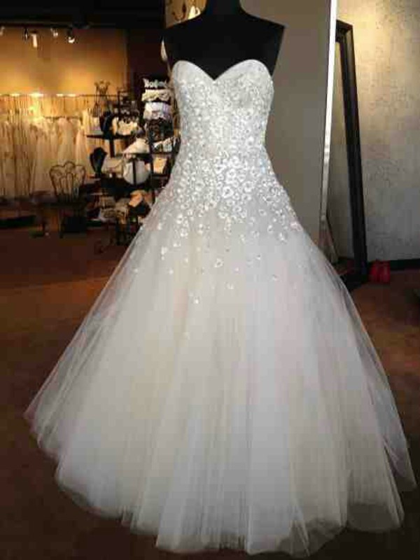 Dress Wedding Dress Sparkly Dress Wedding Wedding
