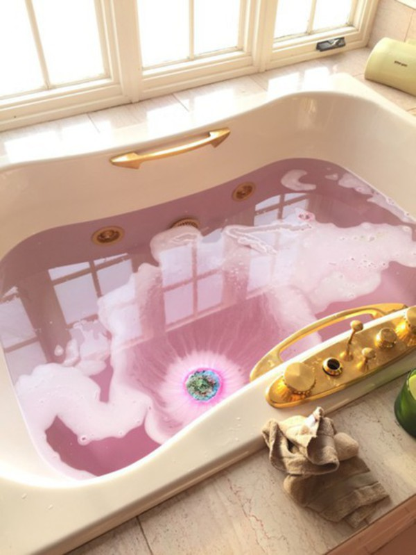 Make Up Lush Bath Bomb Cosmetics Bathroom Pink Girly