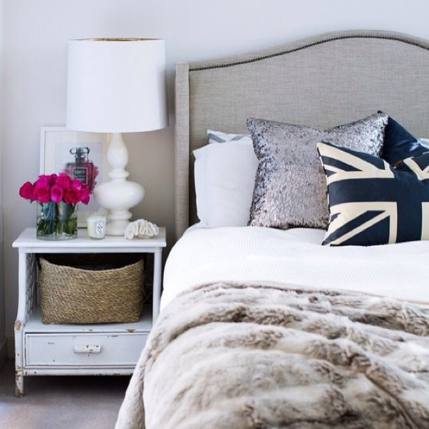 bedroom  bedroom  tumblr bedroom  white  classic  home decor     bedroom  bedroom  tumblr bedroom  white  classic  home decor  bedding   union jack  decorative cushions   Wheretoget