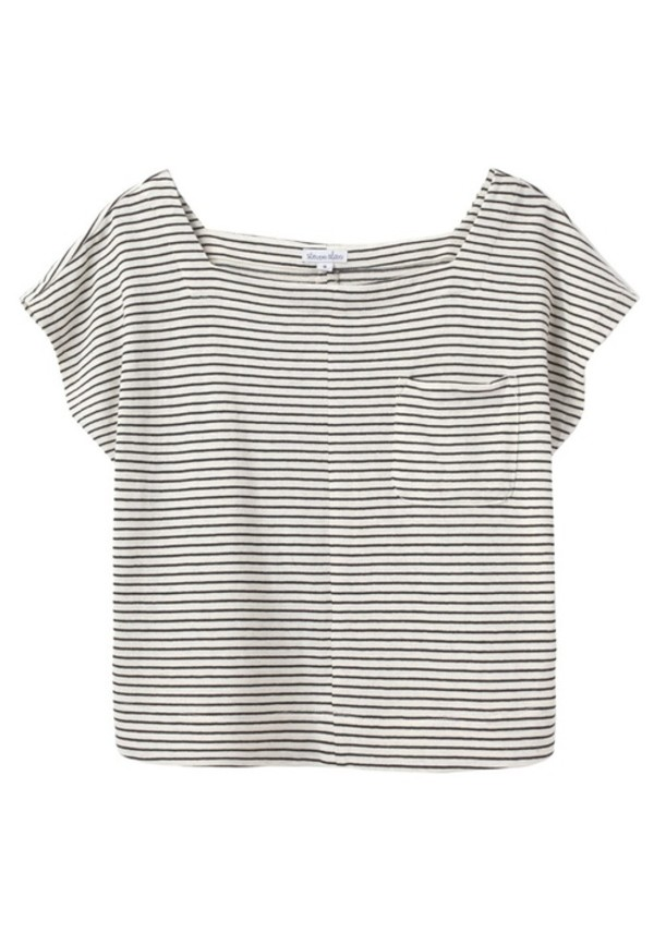 Image result for black and white striped top  tumblr